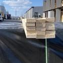 Рейка сухая строганная 20х40х3000 вл. 10-12%